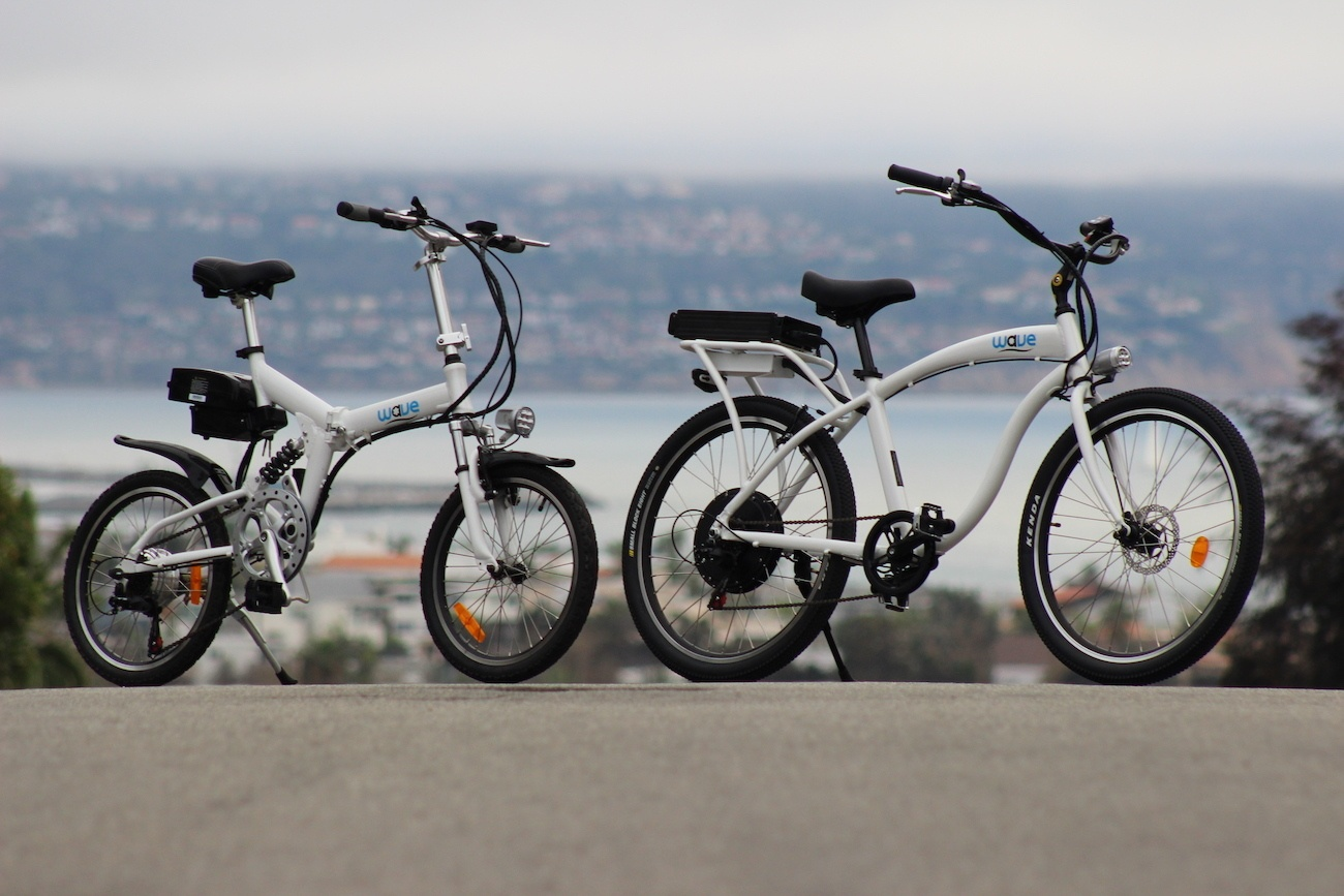 Wave Hits the Big Leagues of Electric Bikes
