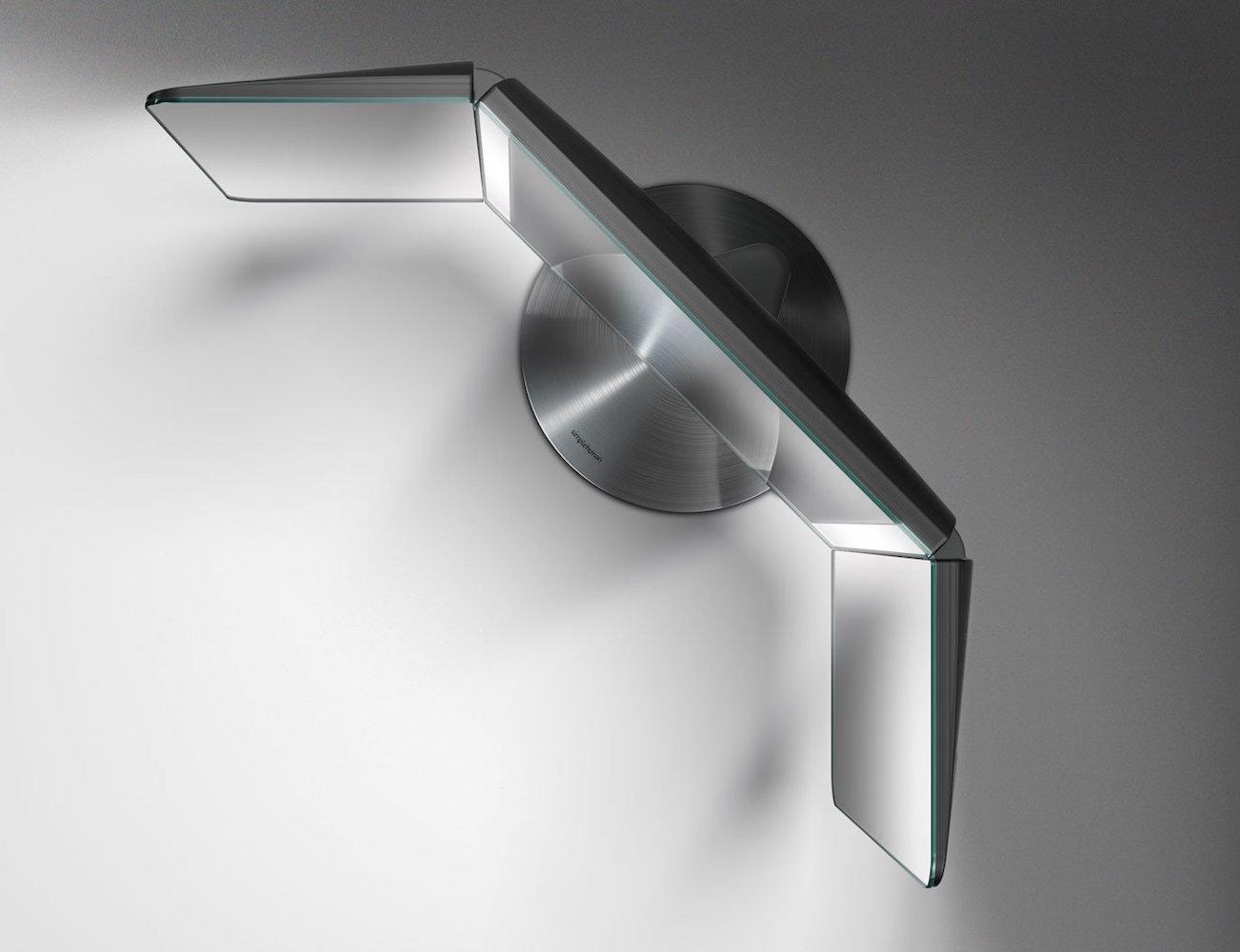 Wide View Sensor Mirror By Simplehuman 187 Gadget Flow