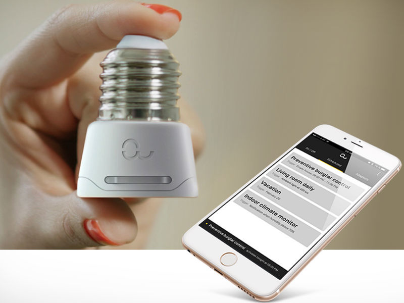 Enjoy Simplified Home Monitoring With the Anyware Smart Lamp Socket Adaptor