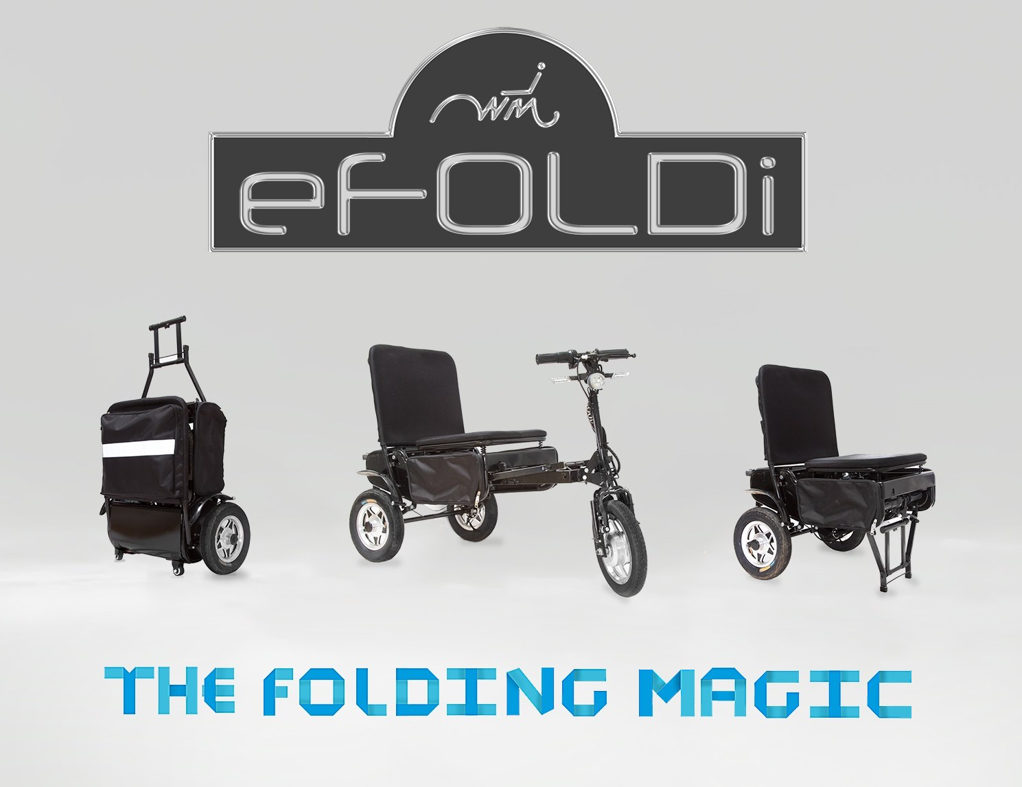 eFOLDi – World Most Versatile Personal Vehicle