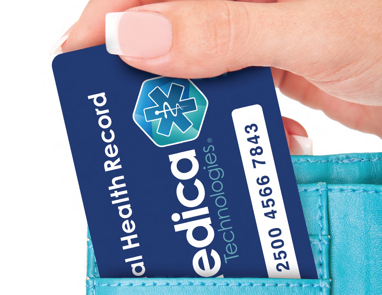 Secure Personal Health Record Card