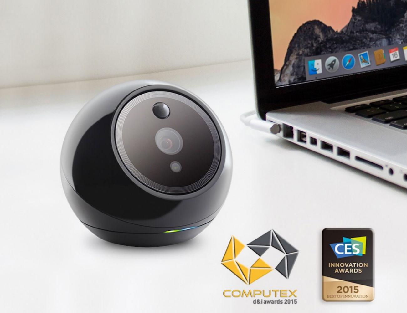 Amaryllo iCamPRO FHD Robotic Home Security Camera