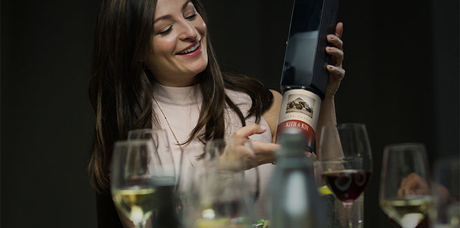 Drink Your Wine How You Want with the Kuvée Smart Bottle
