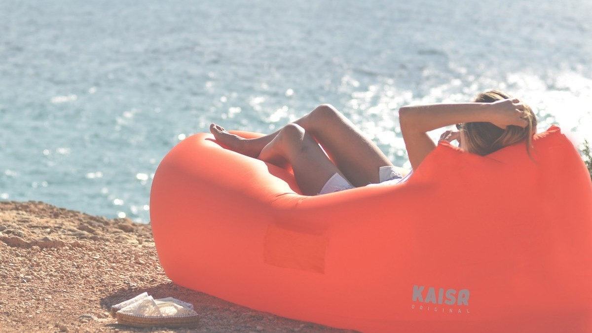 The KAISR Inflatable Lounge is Everything You Need this Summer