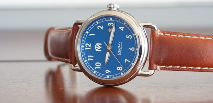 The DelRay Watch Complements Your Look with Vintage Flair