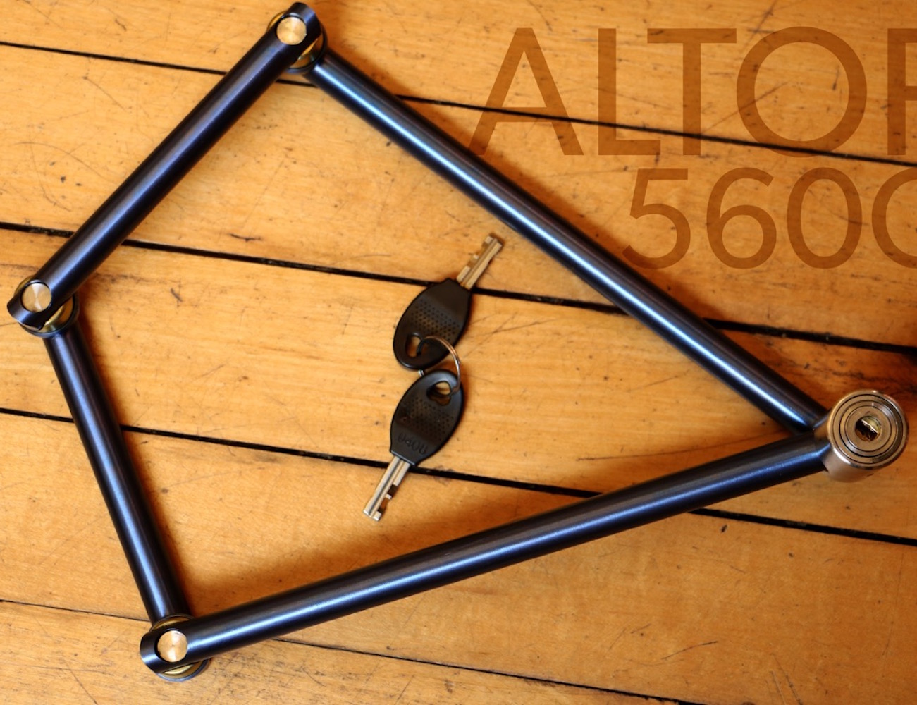 560g Bike Lock By Altor 187 Gadget Flow