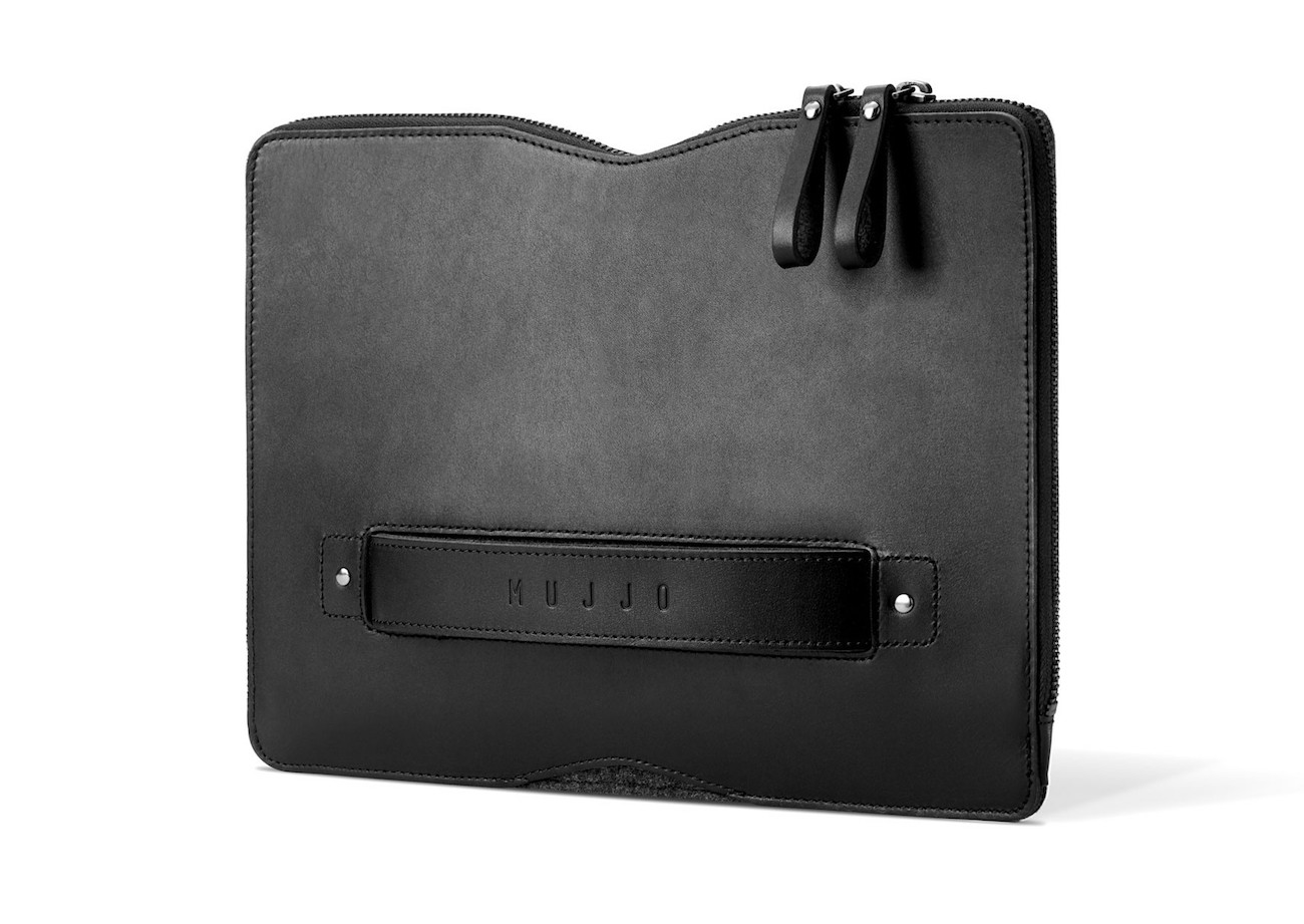 "Carry-On Folio Sleeve for 12"" MacBook by Mujjo"