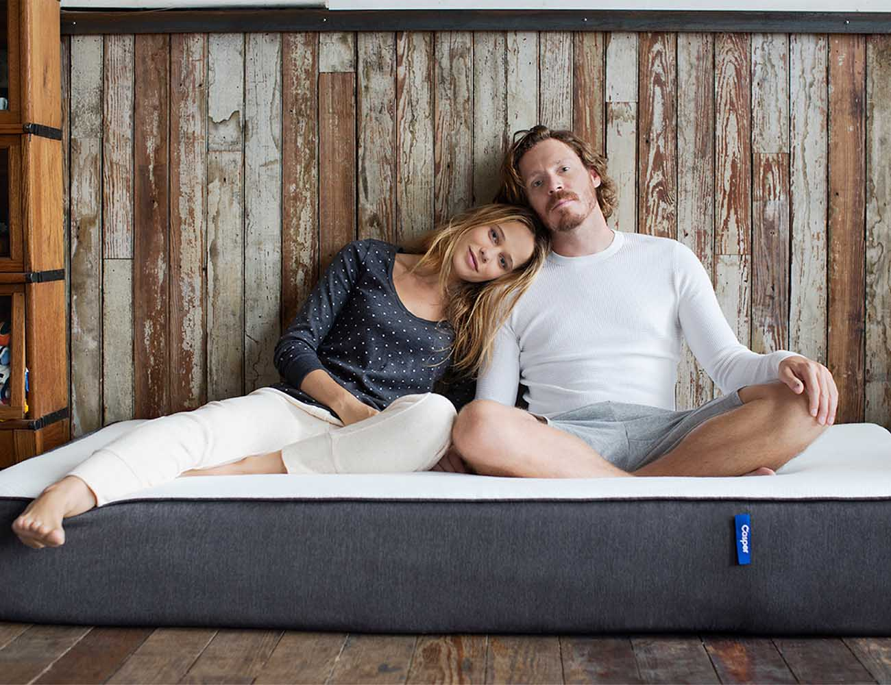 Casper Original Mattress Contouring Mattress keeps you cool and supported while you sleep