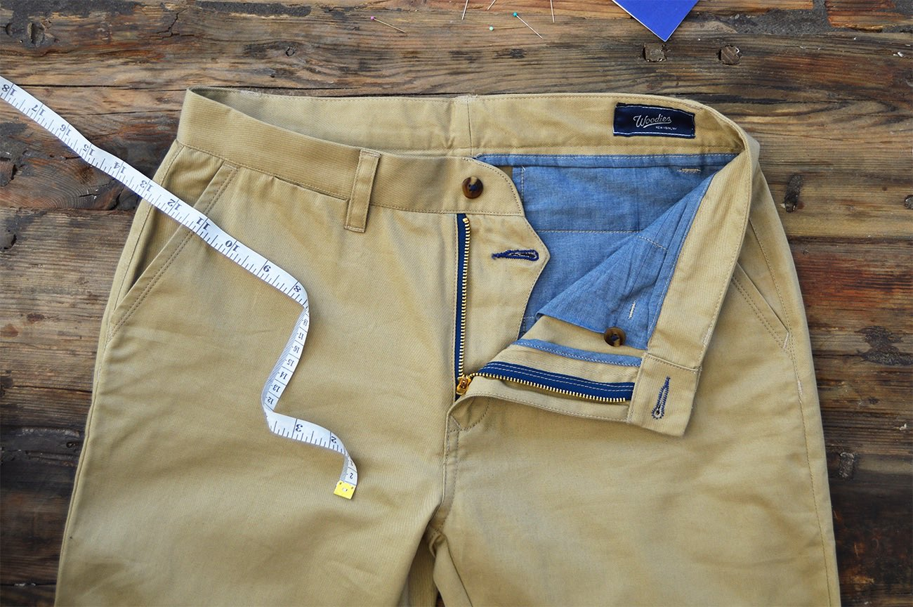 The Perfect Chino – Custom Made To Fit You by Woodies