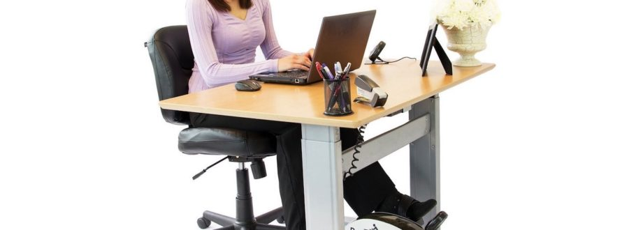 The DeskCycle Remains Quiet so You Can Work Out at Work