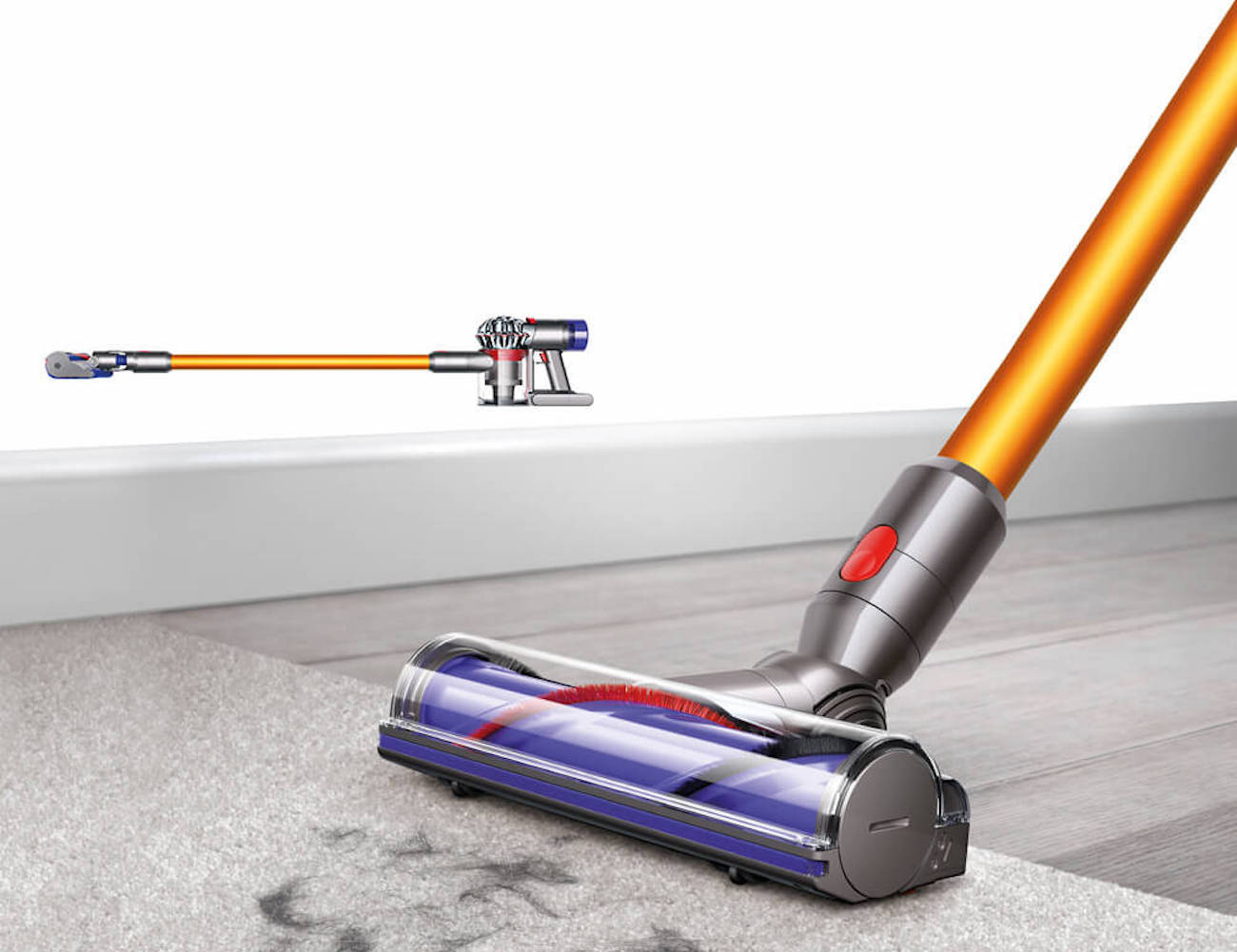 dyson v8 cordless vacuum gadget flow. Black Bedroom Furniture Sets. Home Design Ideas