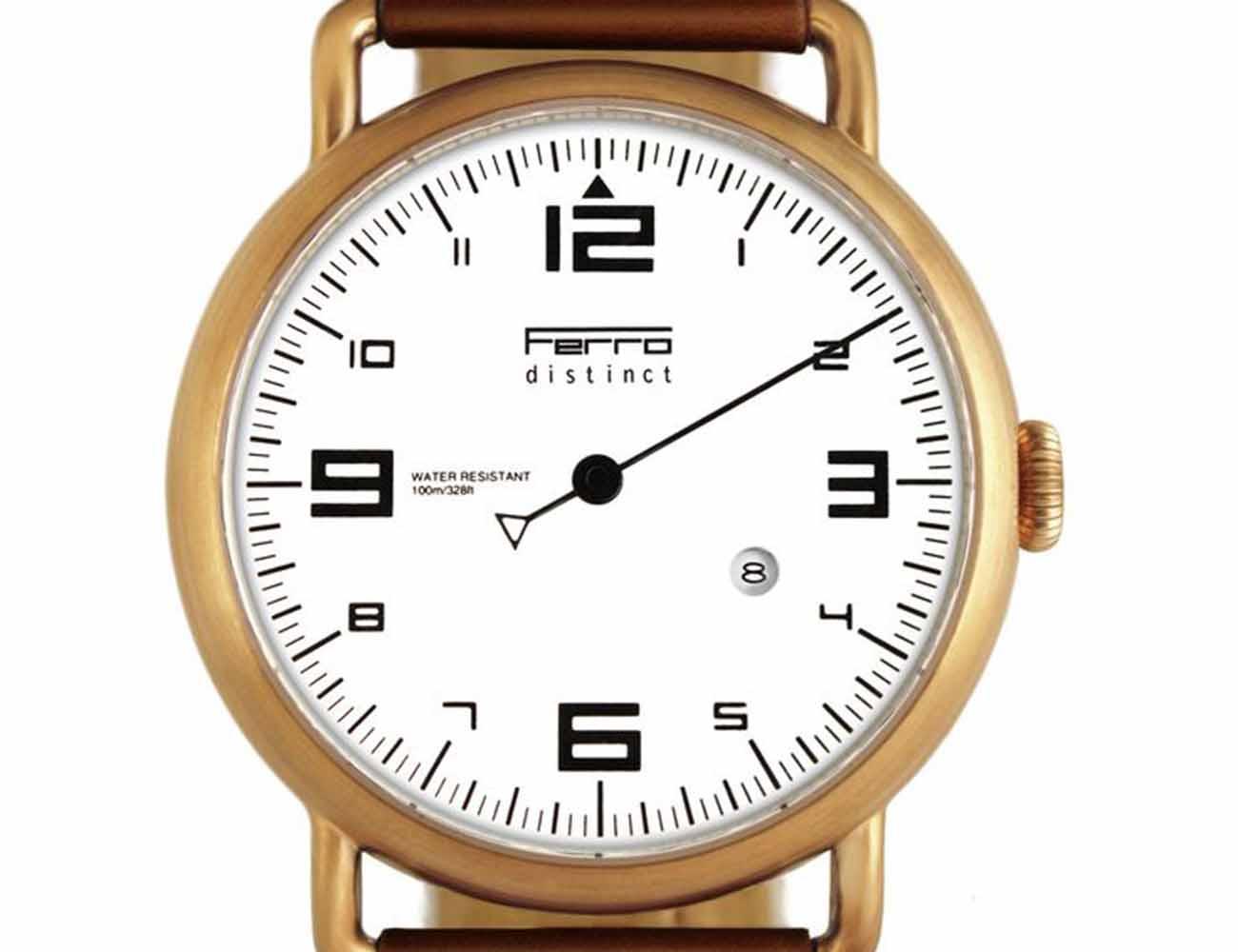 Ferro Watch – A Timepiece Redefined by Porsche Tachometers