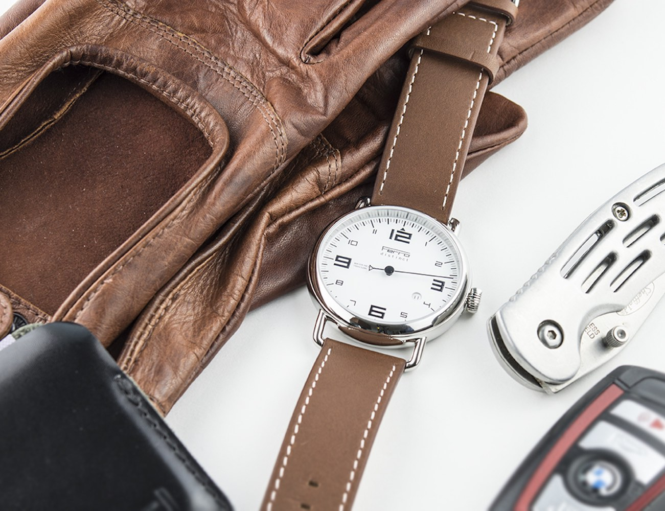 Ferro Watch – A Timepiece Redefined by Porsche Tachometers