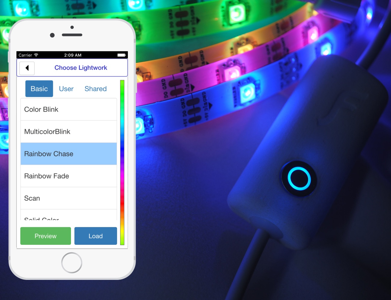 Flickerstrip – Create Your Own Personal Light Show