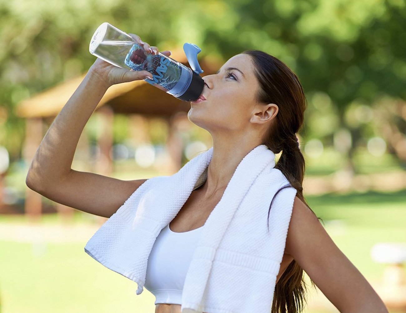 Flip+Top+Sport+Infuser+Water+Bottle+By+Savvy+Infusion