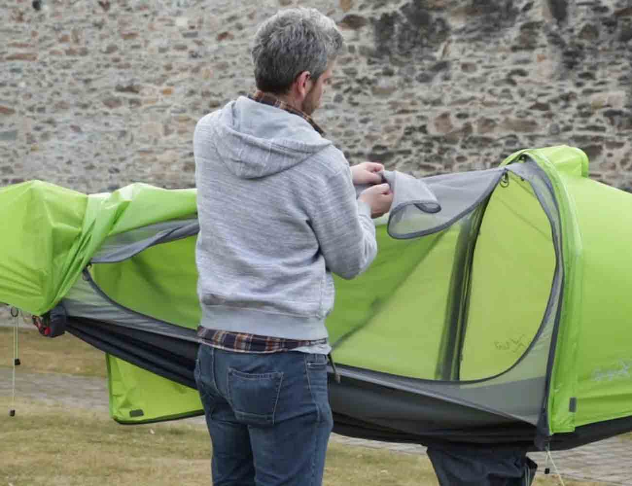 Flying Tent All in One Camping System