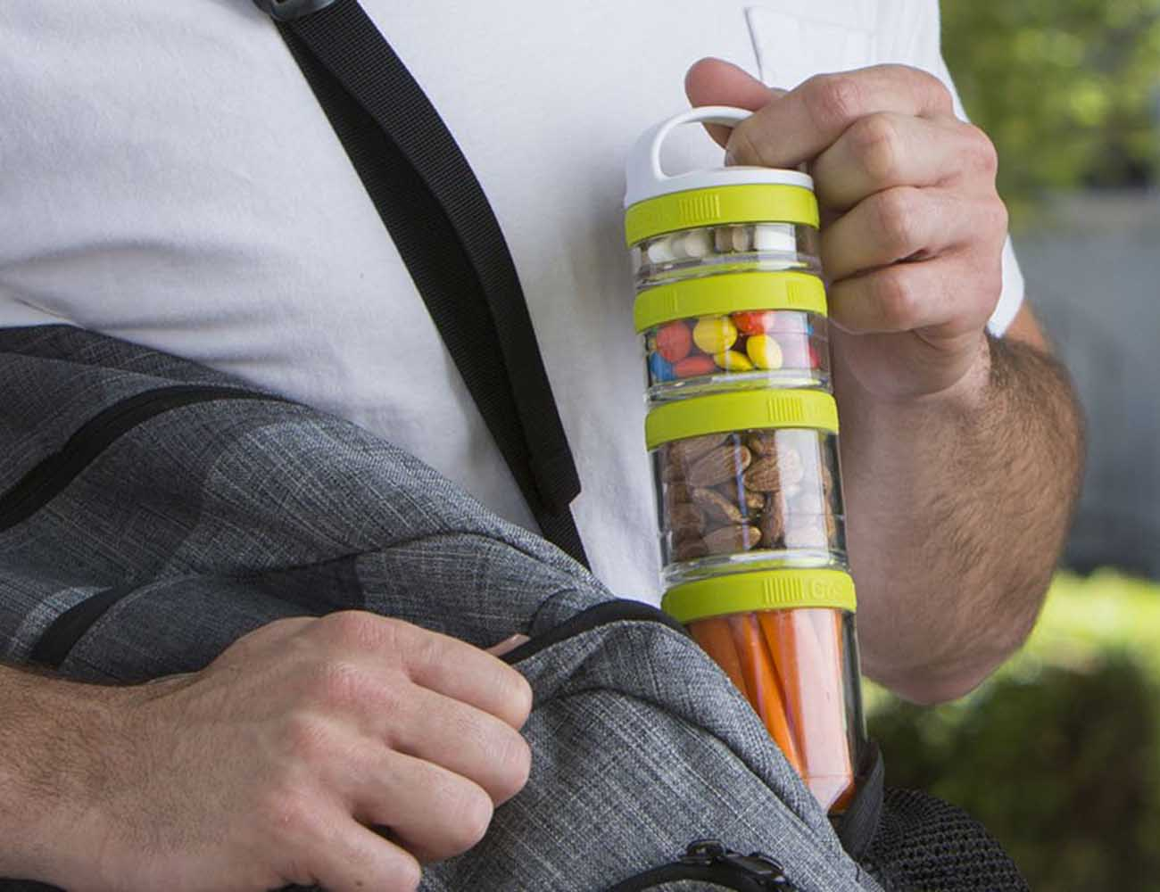 GoStak Twist n' Lock Storage Jars