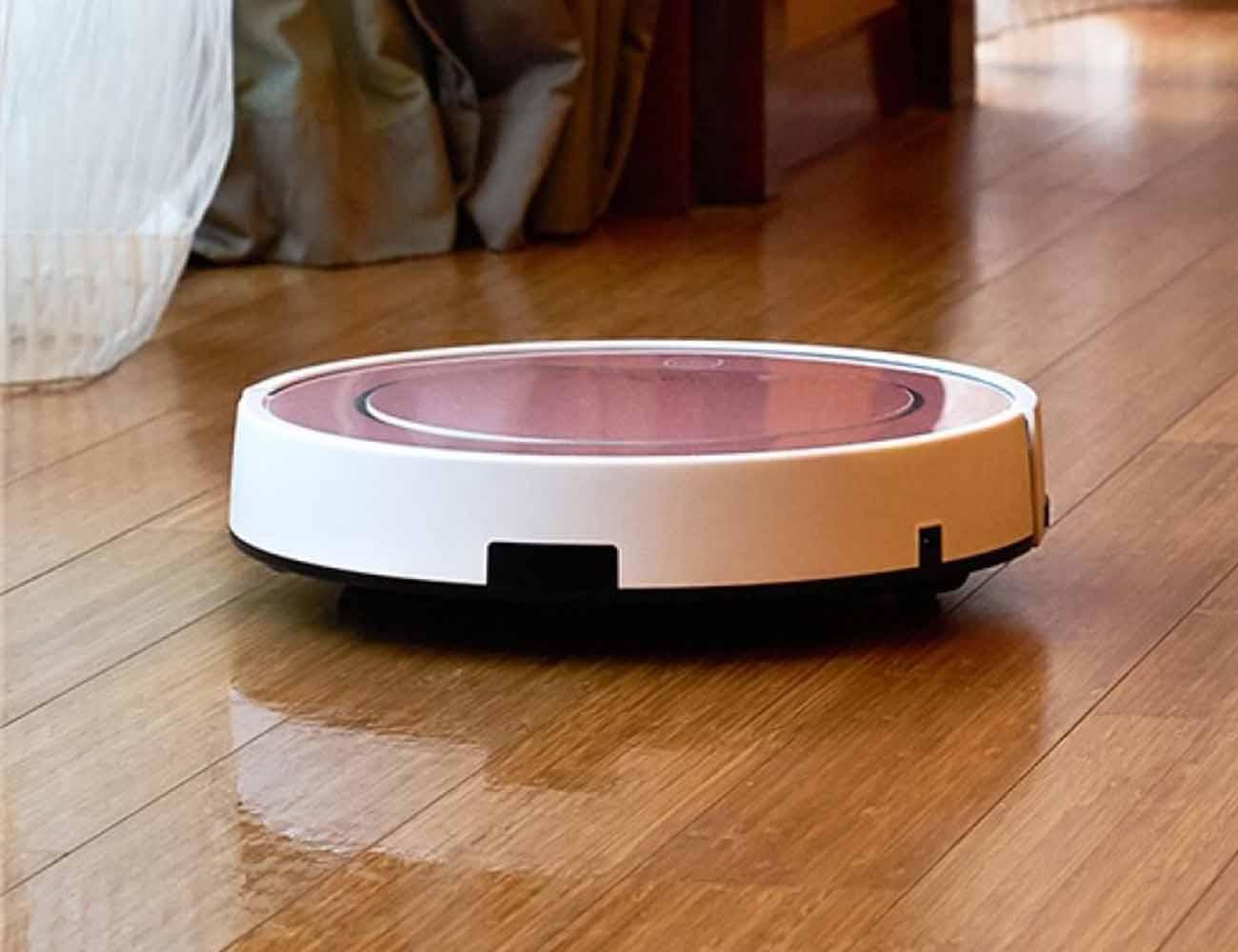 ILIFE V7S Smart Robotic Vacuum Cleaner – Rose Gold