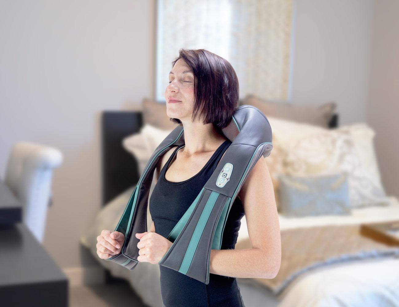 InstaShiatsu+ Neck and Back Massager with Heat