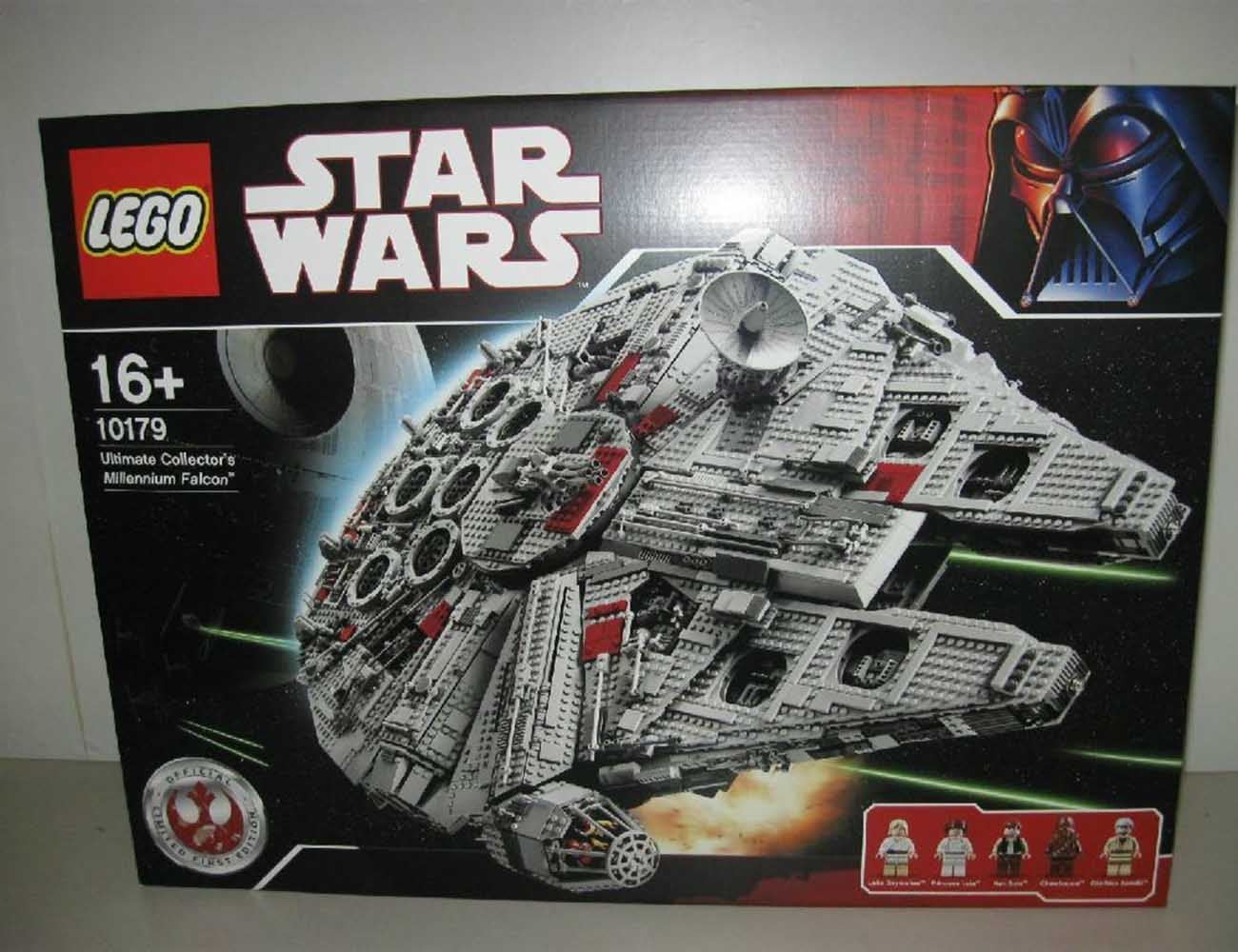 lego millennium falcon instructions