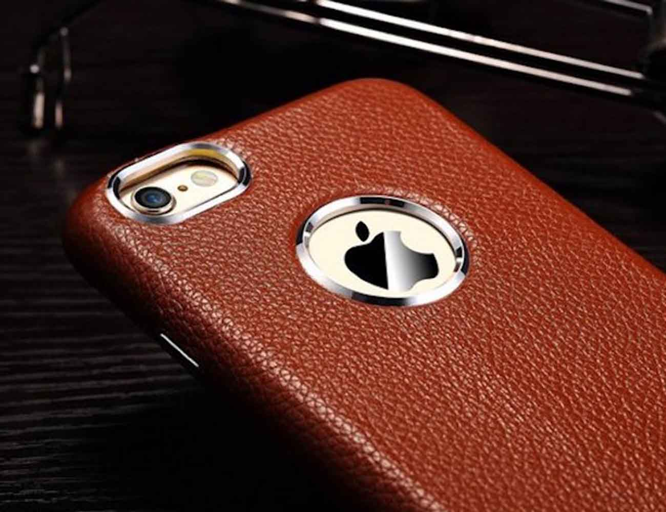 Leather iPhone Case by Linlins