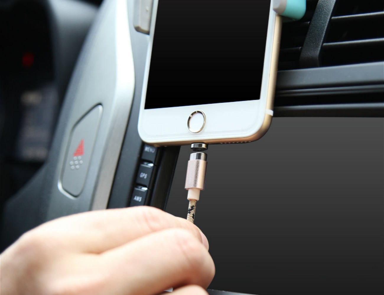Magnetic Lightning Cable by Baseus loading=