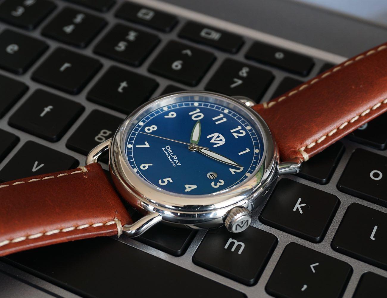 McDowell+Time+DelRay+Auto-Quartz+Watch