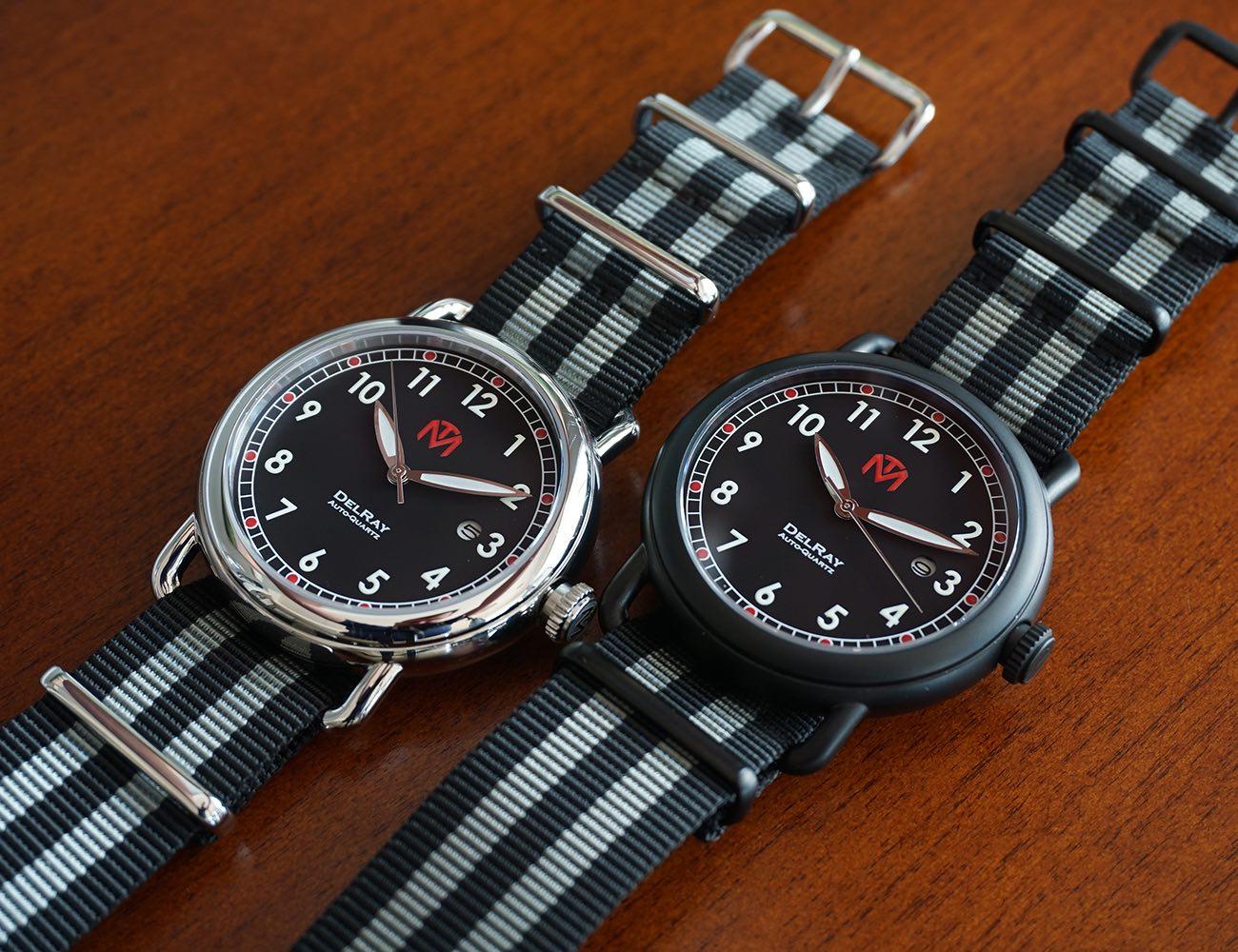 McDowell Time DelRay Auto-Quartz Watch
