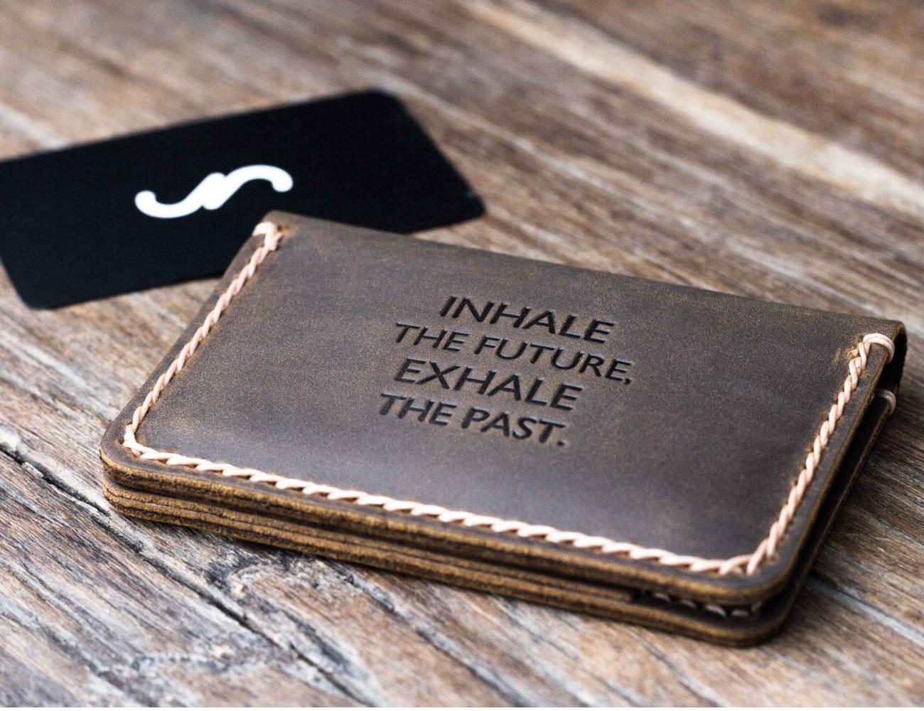 Minimalist Leather Wallet by JooJoobs » Gadget Flow