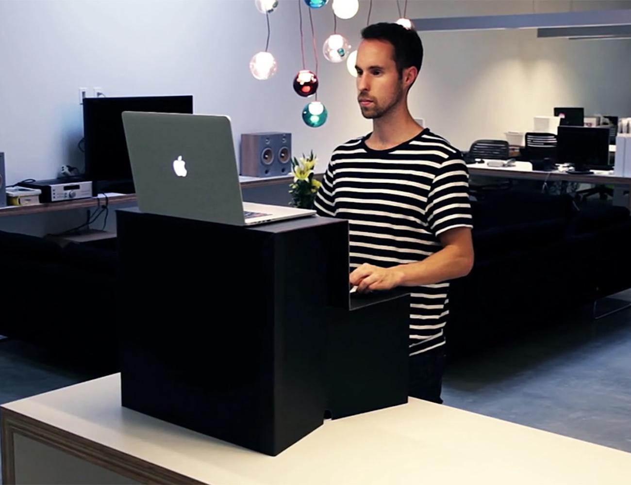 Oristand Fold Flat Stand Up Desk