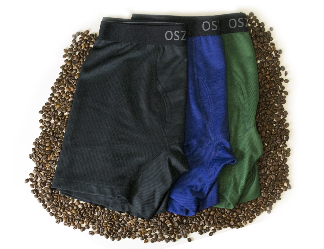 Oszko – Functional Men's Underwear Made From Coffee