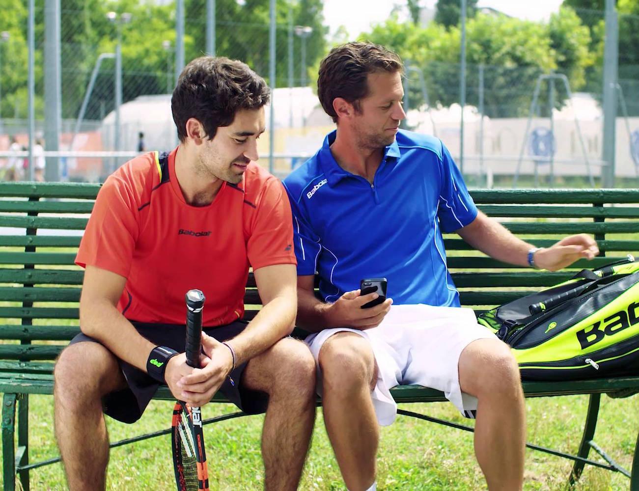POP Tennis Sensor by Babolat