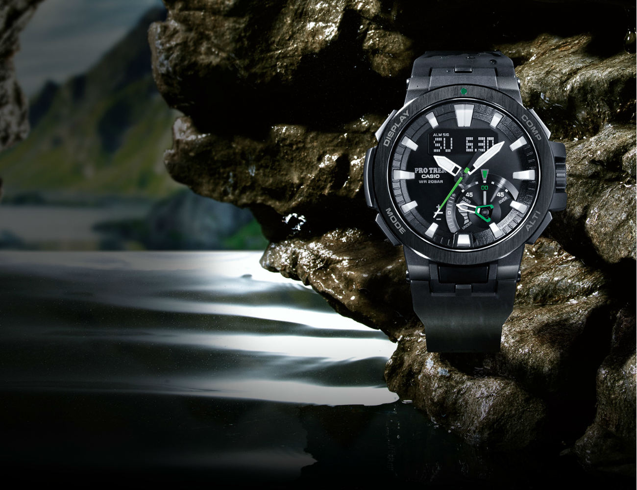 ProTrek PRW-7000 Watch by Casio
