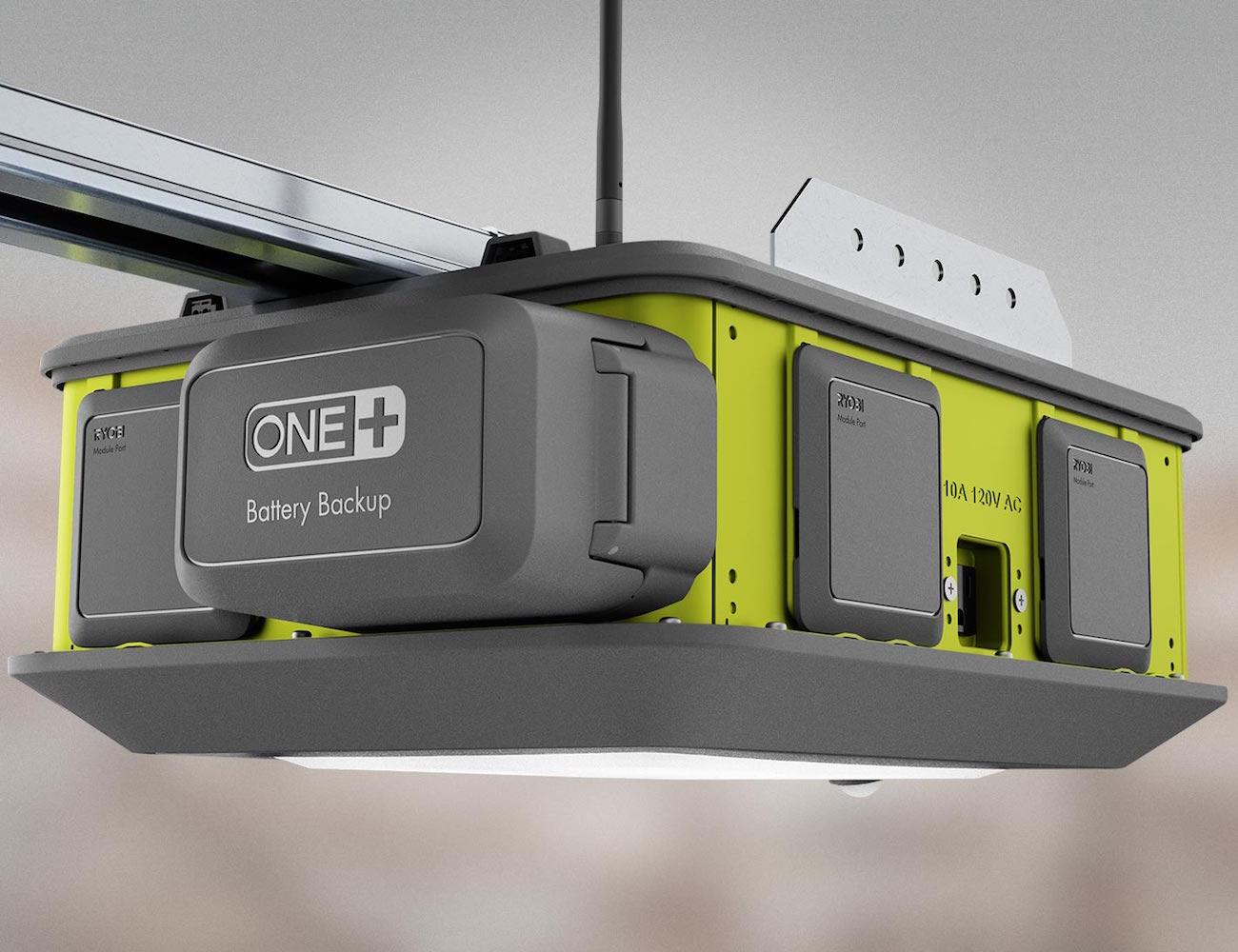 RYOBI Ultra-Quiet Garage Door Opener