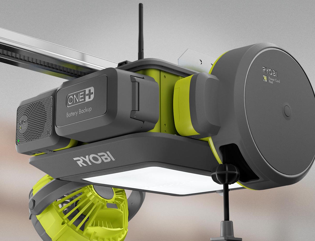 Ryobi Ultra Quiet Garage Door Opener Gadget Flow
