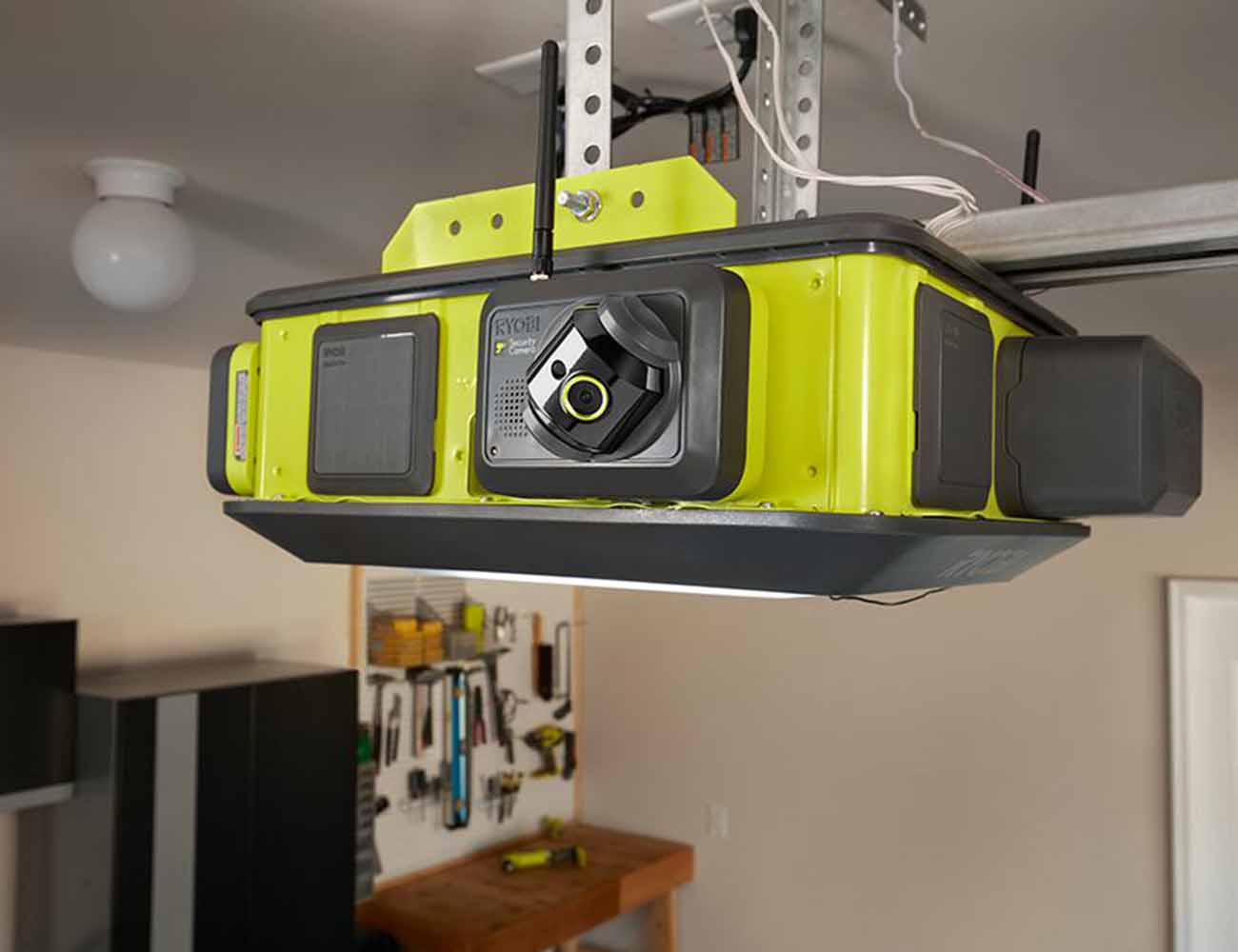 How To Reset Garage Door Opener >> RYOBI Ultra-Quiet Garage Door Opener » Gadget Flow