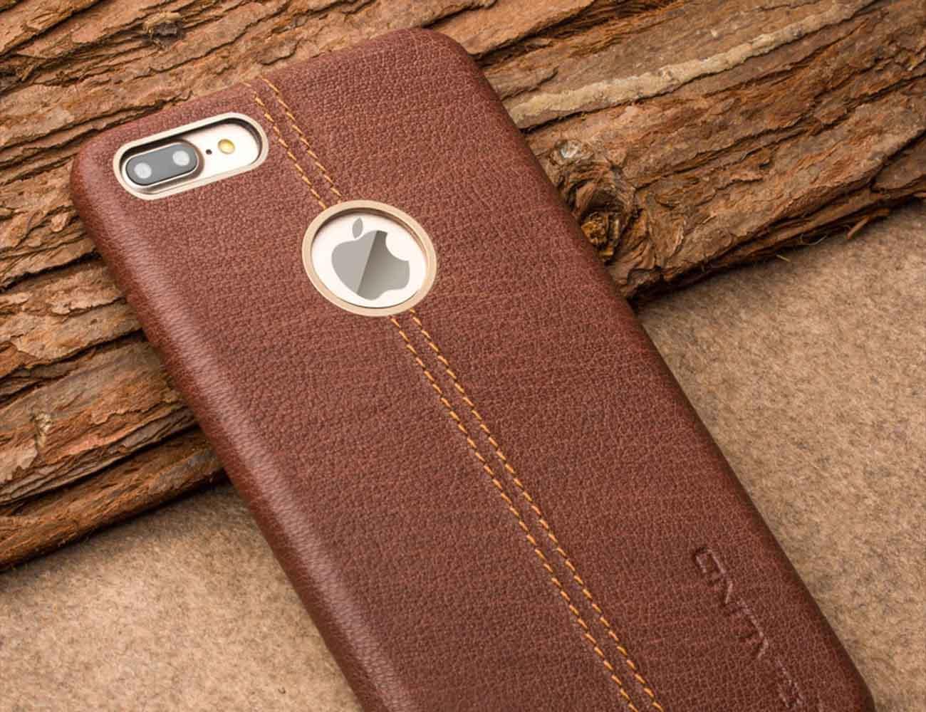 Real Deer Skin iPhone Case by QIALINO