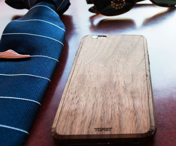 Real Wood iPhone Cover by TOAST