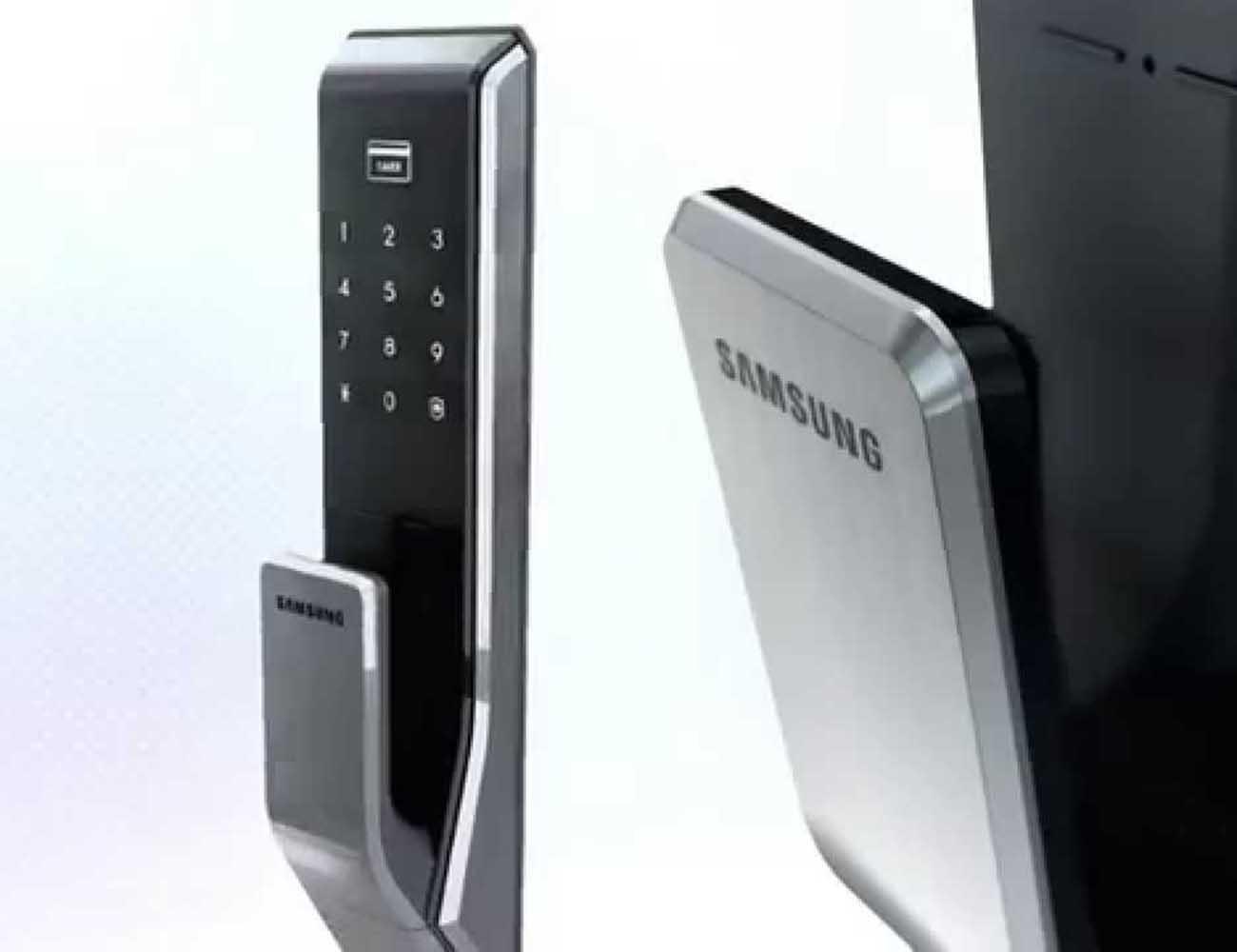 Samsung Two Way Fingerprint Door Lock