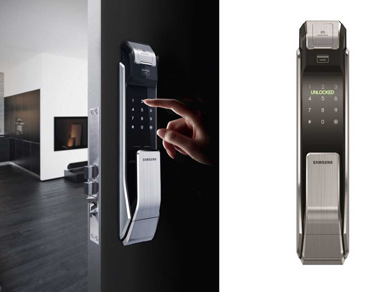 fingerprint door lock, keypad door lock