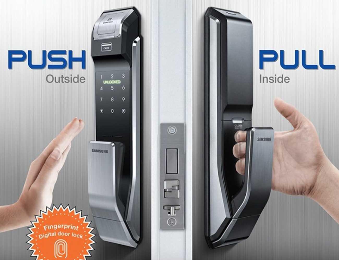 Samsung Two Way Fingerprint Door Lock 187 Gadget Flow