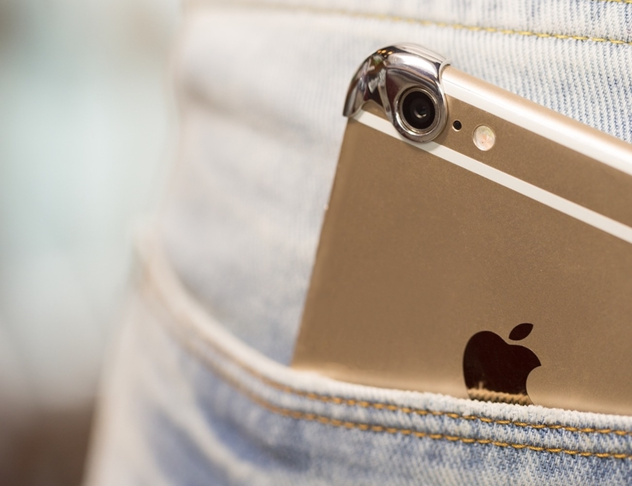 Slimmest iPhone Case Made of Silver