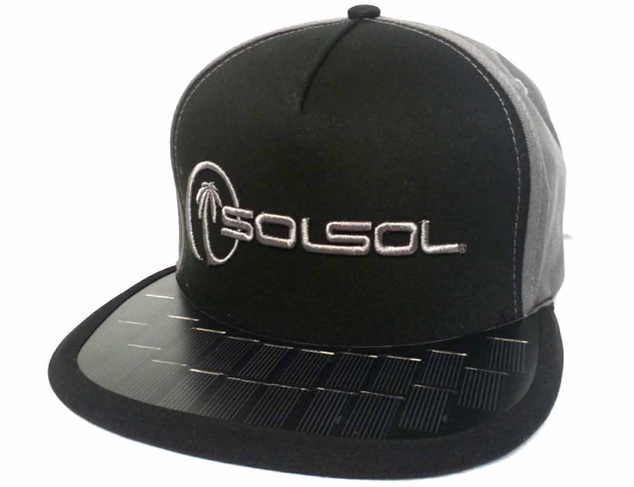 "Solar Hat iPhone6 Charger ""Battery-Free"" by SOLSOL"
