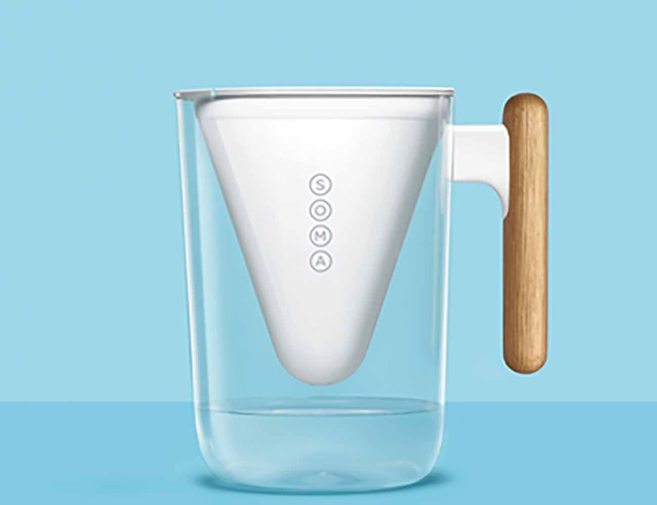 Soma Sustainable Pitcher Amp Plant Based Water Filter
