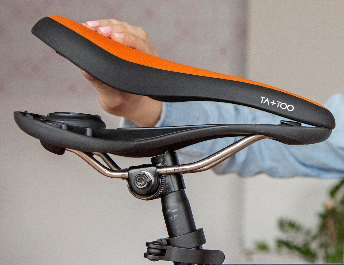 TA+TOO Bicycle Saddle by Selle Royal
