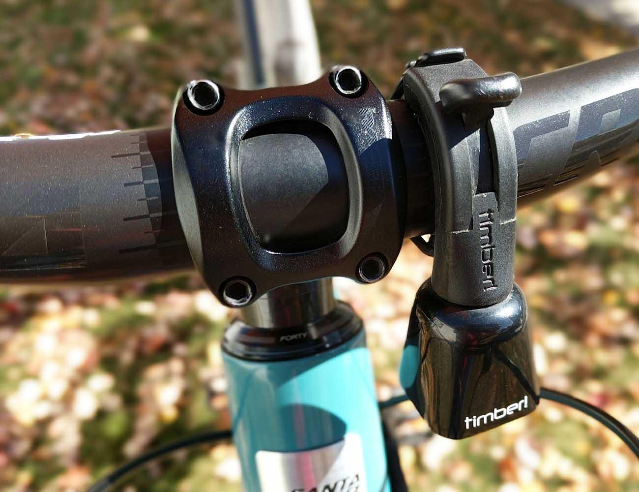 TIMBER Trail Awareness Mountain Bike Bell Black