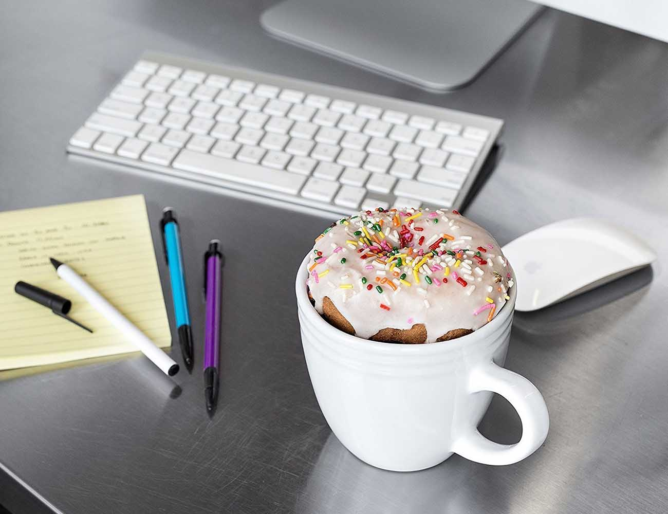 The Doughnut Warming Coffee Mug by Best Morning Ever