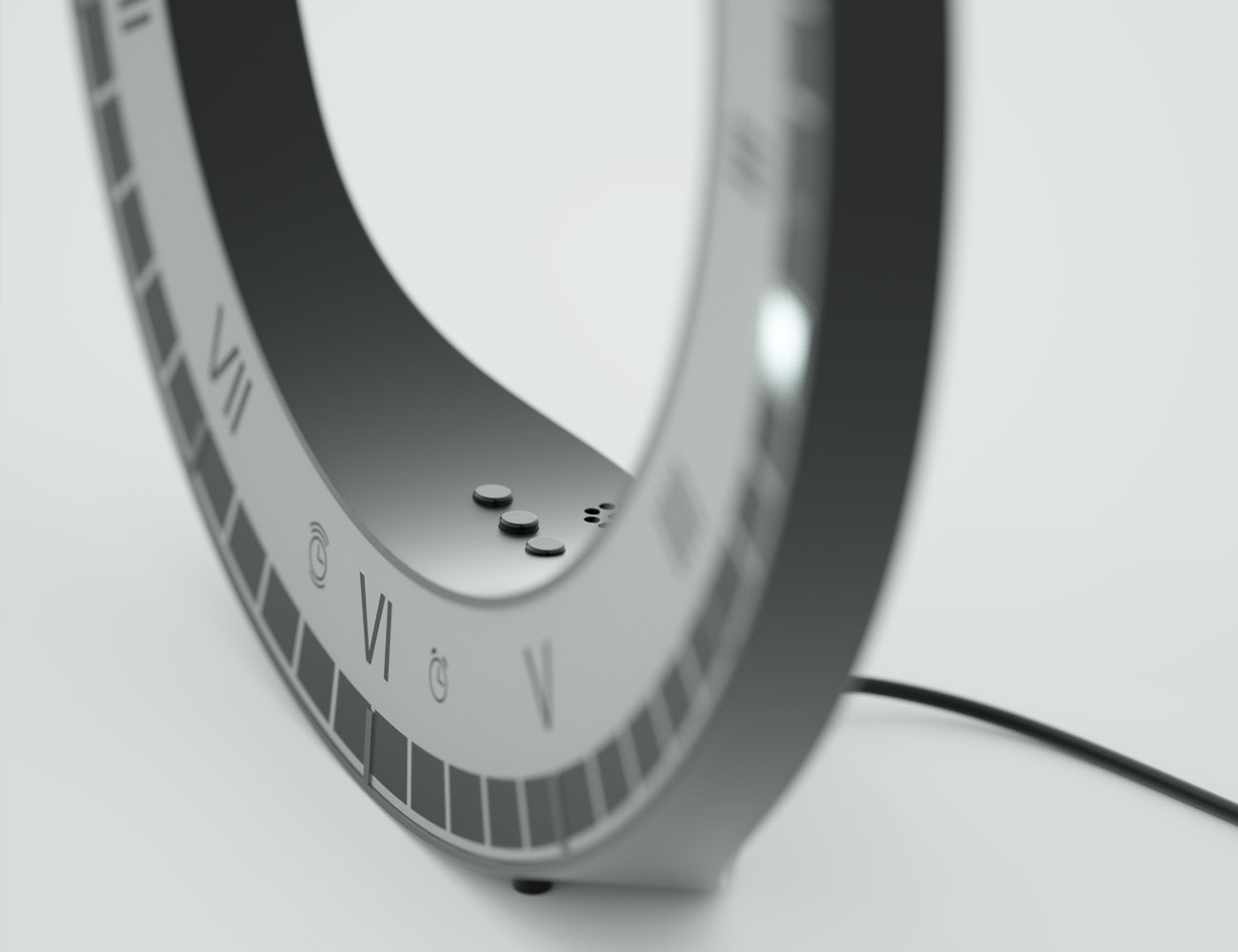The Only Clock Digital LED Clock