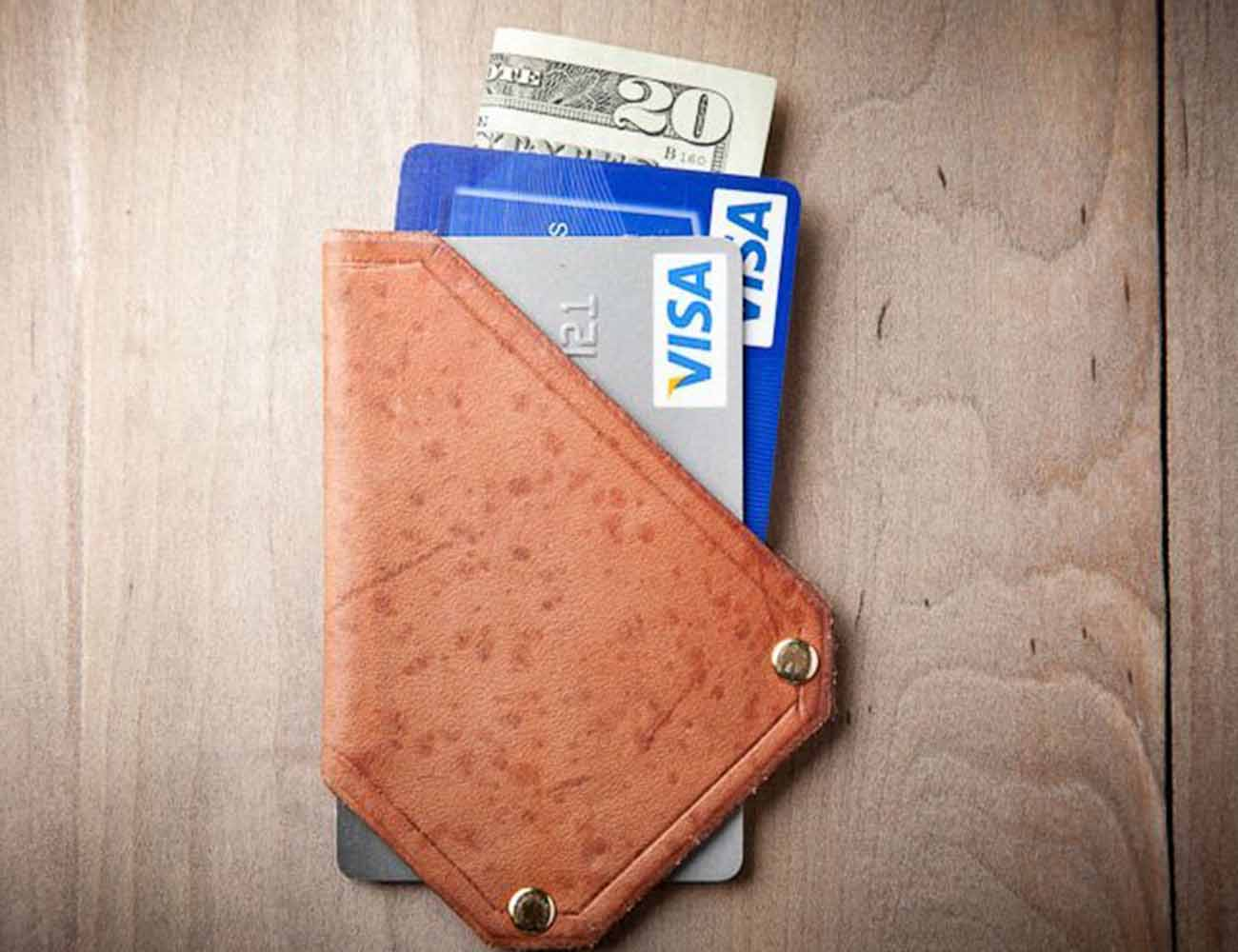 The Whip Card Wallet by Mr. Lentz