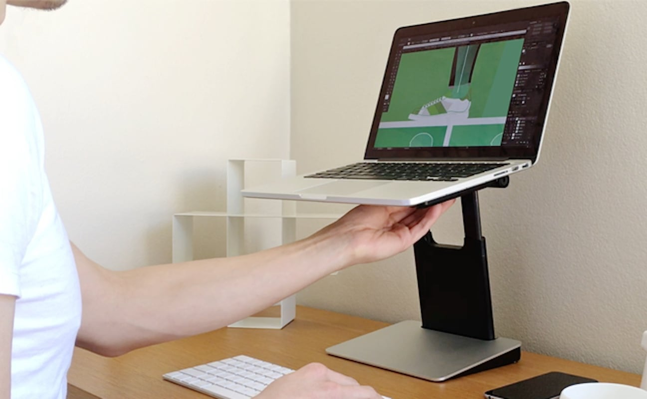 Tiny Tower Adjustable Laptop Stand